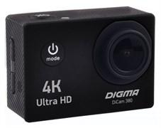 (1013545) Экшн-камера Digma DiCam 380 черный 4K