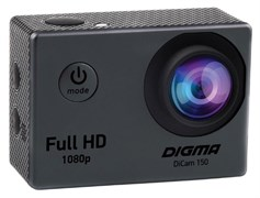 (1012448) Экшн-камера Digma DiCam 150 серый
