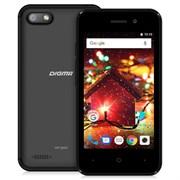 "(1012442) Смартфон Digma HIT Q401 3G 8Gb 1Gb черный моноблок 3G 2Sim 4"" 480x800 Android 7.0 2Mpix 802.11bgn BT GPS GSM900/1800 GSM1900 TouchSc MP3 FM microSD max32Gb"