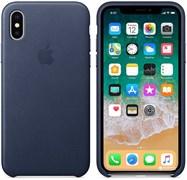 (1012419) Чехол NT силиконовый для iPhone X (midnight blue) 8