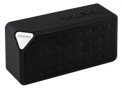 (1012528) Колонка портативная Digma S-20 черный 4W, Bluetooth, FM, USB, microSD, AUX INPUT.
