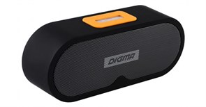 (1012530) Колонка портативная Digma S-31 черный 6W, Bluetooth, FM, Lightning, microSD, AUX INPUT. 2000mAh