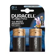(1012525) Батарея Duracell Turbo MAX LR20-2BL D (2шт)