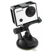 (1012544) Экшн-камера Gembird ACAM-003, 8MP, 1920 x 1080 FHD (60 fps), WIFI, ЖК дисплей 2.0', TF/Micro SDHC, USB 2.0,HDMI, подводный бокс + крепления.