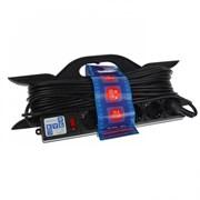 """(1012538) Удлинитель на рамке """"PowerCube"""" 16А/3,5 кВт, 5 розеток, 20м"""
