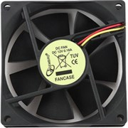 (1012548) Вентилятор Gembird FANCASE, 80x80x25, втулка, 3 pin, провод 30 см