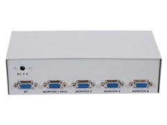 (1012561) Разветвитель сигнала VGA на 4 монитора (Gembird/Cablexpert)  GVS124