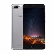 (1012591) Смартфон Doogee Doogee X20 Silver, 5'' 1280x720, 1.3GHz, 4 Core, 1GB RAM, 16GB, up to 64GB flash, 5Mpix/2Mpix, 2 Sim, 2G, 3G, BT, Wi-Fi, GPS, Micro-USB, 2600mAh, Android 7.0, 175g, 145x72x9.7, Две основных камеры
