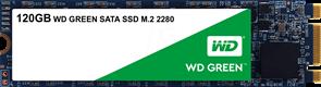 (1012635) Накопитель SSD WD Original SATA III 120Gb WDS120G2G0B Green M.2 2280