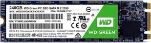 (1012636) Накопитель SSD WD Original SATA III 240Gb WDS240G2G0B Green M.2 2280