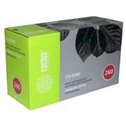 (1012645) Тонер Картридж Cactus CS-E260 E260A21E черный для Lexmark Optra E260/E360/E460 (3500стр.)