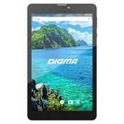 "(1012648) Планшет Digma Plane 8549S 4G SC9832 (1.3) 4C, RAM1Gb, ROM16Gb 8"" IPS 1280x800, 3G, 4G, Android 7.0, графит, черный, 2Mpix, 0.3Mpix, BT, GPS, WiFi, Touch, microSD 32Gb, minUSB, 3800mAh (487531)"