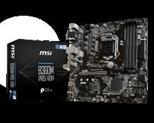 (1012713) Материнская плата MSI B360M PRO-VDH Soc-1151v2 Intel B360 4xDDR4 mATX AC`97 8ch(7.1) GbLAN+VGA+DVI+HDMI