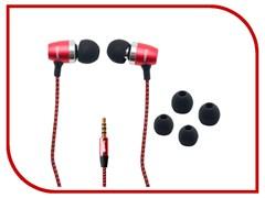 (1012615) Гарнитура  ipipoo iP-B70Hi с микрофоном и регулятором громкости (RED)