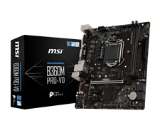 (1012694) Материнская плата MSI B360M PRO-VD Soc-1151v2 Intel B360 2xDDR4 mATX AC`97 8ch(7.1) GbLAN+VGA+DVI