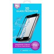 (1011096) Стекло защитное 3D Krutoff Group для iPhone X (black)