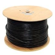 (1012746) Кабель US5500-305AE UTP / SOLID / 5E / CCAG / PVC+PE / BLACK / OUTDOOR / DRUM / 305M
