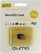 (1012798) Micro SecureDigital 2Gb MicroSD QUMO QM2GMICSDNA {без адаптера}