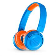 (1012822) Наушники JBL Беспроводные наушники накладные R 300, 32 Ом, синий детские (ограничение громкости) (JBLJR300BTUNO)