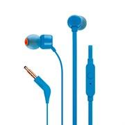 (1012825) Гарнитура вкладыши JBL T110 BLU 1.2м синий проводные