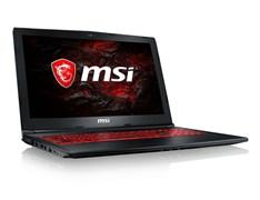 "(1012872) Ноутбук MSI GL62M 7REX-2673XRU Core i7 7700HQ, 8Gb, 1Tb, nVidia GeForce GTX 1050 Ti 4Gb, 15.6"", FHD (1920x1080), Free DOS, black, WiFi, BT, Cam"
