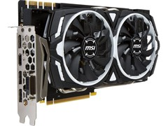(1012853) Видеокарта MSI PCI-E GeForce GTX 1070 Ti ARMOR 8G nVidia GeForce GTX 1070Ti 8192Mb 256bit GDDR5 1607/8008 DVIx1/HDMIx1/DPx3/HDCP Ret