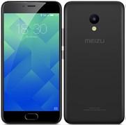 (1012876) Смартфон MEIZU M5c Black, 5'' 1280x720, 1.3GHz, 4 Core, 2GB RAM, 32GB, 8Mpix/5Mpix, 2 Sim, 2G, 3G, LTE, BT, Wi-Fi, GPS, 3000mAh, 144g, 144x70.5x8.4