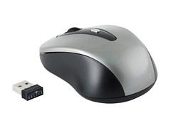 (1012925) Мышь Oklick 435MW серый/черный оптическая (1600dpi) беспроводная USB (3but)