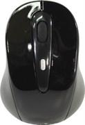 (1012924) Мышь Oklick 435MW черный оптическая (1600dpi) беспроводная USB (3but)
