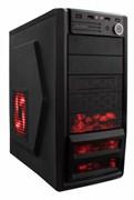 (1002212) Корпус Accord P-46B черный w/o PSU ATX 1*80mm fan 2*USB2.0 2*USB3.0 audio