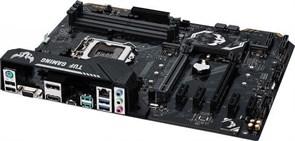 (1013095) Материнская плата Asus TUF H370-PRO GAMING Soc-1151v2 Intel H370 4xDDR4 ATX AC`97 8ch(7.1) GbLAN RAID+DVI+HDMI+DP