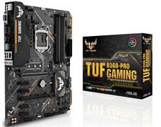 (1013094) Материнская плата Asus TUF B360-PRO GAMING Soc-1151v2 Intel B360 4xDDR4 ATX AC`97 8ch(7.1) GbLAN+DVI+HDMI
