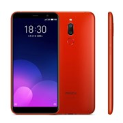 (1013140) Смартфон MEIZU M6T 2/16GB  Red, 5.7'' 1440x720, 1.0GHz+1.5GHz, 8 Core, 2GB RAM, 16GB, up to 128GB flash, 12Mpix+2Mpix/8Mpix, 2 Sim, 2G, 3G, LTE, BT, Wi-Fi, GPS / AGPS, GLONASS, Micro-USB, 3300mAh, Flyme, 145g, 152,3x73x8,4