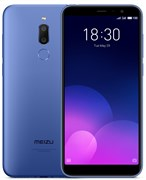 "(1013135) Смартфон MEIZU M6T 2/16GB  BLUE M811H-16-BL 5.7"" / 1440x720 / MediaTek MT6750 / 2Gb / 16Gb / 3G / 4G / 13MP+2MP / Android 7.0 / WiFi, GPS/ГЛОНАСС, BT, Cam, 3300mAh"