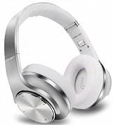 (1013120) Гарнитура CROWN CMBH-9320 Silver (Беспроводная гарнитура с функцией колонок; Bluetooth 4.2; Мощность 6 Вт; Время работы 8,5 ч в режиме наушников, 2 ч в режиме колонок; подключение по кабелю 3,5 мм (входит в комплект); Встроенное FM радио и