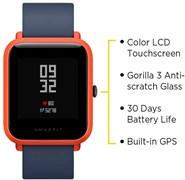 (1013146) Умные часы Xiaomi Amazfit Bip Orange (UYG4022RT)