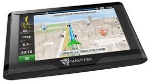 "(1013191) Навигатор Автомобильный GPS Navitel E500 Magnetic 5"" 800x480 8Gb microSDHC серый Navitel"