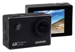 (1013186) Видеорегистратор Digma FreeDrive Action 4K черный 8Mpix 2160x3840 2160p 140гр.