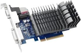 (1013199) Видеокарта Asus PCI-E GT 710-1-SL NV GT710 1024Mb 64b DDR3 954/ 1800 DVIx1/ HDMIx1/ CRTx1/ HDCP Ret low