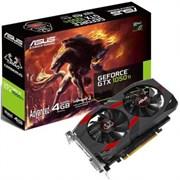 (1013198)  Видеокарта Asus PCI-E CERBERUS-GTX1050TI-A4G nVidia GeForce GTX 1050TI 4096Mb 128bit GDDR5 1303/7008 DVIx1/HDMIx1/DPx1/HDCP Ret