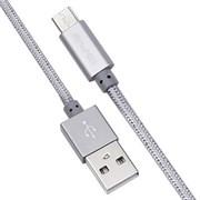(1013225) USB кабель micro Awei CL-10 (0.3m) gray