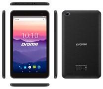 """(1013240) Планшет Digma Optima 7018N 4G MTK8735V (1.0) 4C, RAM2Gb, ROM16Gb 7"""" IPS 1024x600, 3G, 4G, Android 7.0, черный, 2Mpix, 0.3Mpix, BT, GPS, WiFi, Touch, microSD 64Gb, minUSB, 2500mAh"""