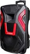 (1013237) Минисистема Hyundai H-MC140 черный 500Вт, FM, USB, BT, SD, MMC