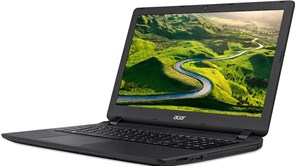 "(1013293) Ноутбук Acer Aspire ES1-523-2245 E1 7010, 4Gb, 500Gb, AMD Radeon R2, 15.6"", HD (1366x768), Linpus, black, WiFi, BT, Cam"