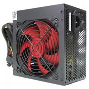 (1013307) Блок питания CROWN CM-PS500W PLUS (ATX 500W, EMI/CE, 20+4in 400mm, 120mm red FAN, SATA*4, IDE*4, FDD*1, 4+4pin, 6+2pin PCI-E*1, кабель питания 1.2м, плёнка)