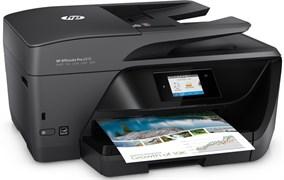 (1013366) МФУ струйный HP OfficeJet Pro 6970 e-AiO (J7K34A) A4 Duplex WiFi USB RJ-45 черный