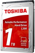 "(1013362) Жесткий диск Toshiba SATA-III 1Tb HDWL110UZSVA L200 Slim (5400rpm) 128Mb 2.5"""