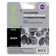 (1013395) Картридж струйный Cactus CS-LC529XLBK черный (61мл) для Brother DCP-J100/J105/J200