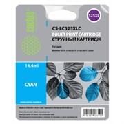 (1013392) Картридж струйный Cactus CS-LC525XLC голубой (14.4мл) для Brother DCP-J100/J105/J200