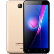 "(1013426) Смартфон Oukitel C9 Gold 5"" / 1280x720 / MediaTek MT6580 / 8 Гб / 1 Гб / 3G / 8 МП + 2 МП / Android 7.0 / 2000 мА⋅ч"